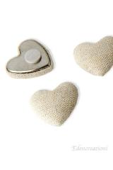 Applicazione-decorazione-cuore-stoffa-metallo-bomboniera-sacchetto-segnaposto-cerimonia-adesivo-0078-2,5cm