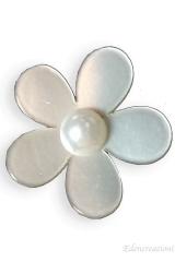 Applicazione-decorazione-fiore-PVC-avorio-bomboniera-sacchetto-cerimonia-da-incollo-0089-2,8cm
