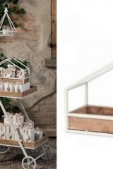 Set-2-espositori-da-tavolo-in-legno-e-metallo.-CM-40x18-H-29-CM-36x15-H-25