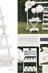 Display-legno-bianco-5-piani-con-lavagnetta.-CM-64x42.5-H-165