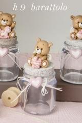 Barattolo-tappo-sughero-orso-resina-baby-H9-bimba-rosa-articolo-portaconfetti-bomboniera-cerimonie-cerimona-confettata-battesimo-nascita-E049244