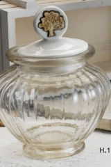 Barattolo-vetro-con-tappo-ceramica-dettaglio-albero-H12-PB103-articolo-utile-bomboniera-comunione-cresima-battesimo-nascita-laurea-pansionamento-anniversario