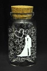 Barattolo-vetro-tappo-sughero-decori-sposi-bianco-Diam.4.5-H9- articolo-portaconfetti-bomboniera-cerimonie-cerimona-confettata-matrimonio-nozze-segnaposto-CB8300