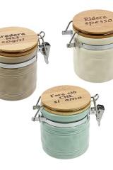 Barattolo-ceramica-colorata-con-tappo-legno-scritta.-Ass-3.-H-95-Codice-E02184ST20E02183