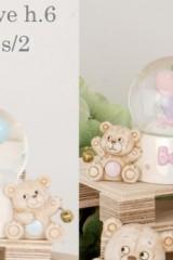 Bolla-vetro-neve-con-orso-rosa-o-azzurro-e-campanellino.-CM-6-Codice-E049755