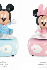 Carillon-Disney-con-Minnie-e-Topolino-rosa-o-azzurro-con-scatola.-Diam.-8.5-H-15-Codice-BN69511