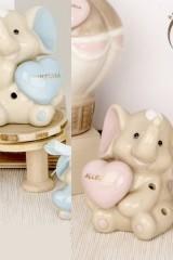 Elefante-in-porcellana-lucida-traforato-con-luce-LED.-Ass-2-per-colore.-H-9-Codice-E03100