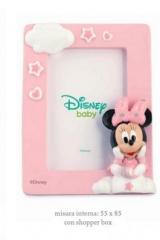 Portafoto-resina-Disney-con-Minnie-e-Topolino-rosa-o-azzurro-con-shopper.-CM-9x12-EST-CM-5.5x8.5-INT-Codice-BN69510
