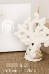 Profumatore-ceramica-forma-albero-con-applicazione-coppia-cuori-con-scatola-e-profumino.-CM-13-Codice-E02212