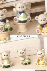 Orsetti-resina-orsetto-orsetta-oro-orsa-resina-dura-battesimo-nascita-rosa-celeste-bomboniera-decorativa-H-4.5-E049502