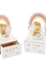 Scatola-legno-con-arcobaleno-e-angelo-in-resina-rosa-o-azzurro.-Ass-2-per-colore.-H-95-Codice-E049729-20E049729