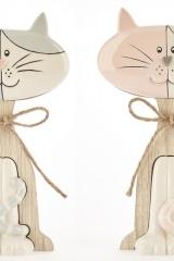 Gattino-ceramica-e-legno-bicolor-baby.-CM-29-Codice-CB06012-CB06011-CB06010