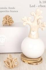 Profumatore-ceramica-con-albero-e-luce-LED-con-scatola.-H-18-Codice-E02230
