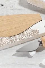 Tagliere-legno-e-resina-con-decoro-merletto-coltello-da-formaggio-scatola-pvc-porta-confetti-interna-e-scatola.-CM-18x10-MADE-IN-ITALY-Codice-DC19381