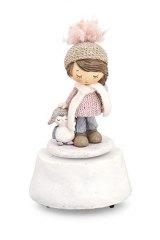 bimba-statua-statuina-rosa-decorazione-decoro-natalizio-addobbo-natale-pinguino-carillon-movimanto-musicale