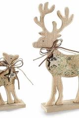 coppia-renne-glitter-oro-legno-natale-natalizie-Cod-0944