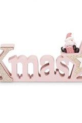 scritta-stella-babbo-natale-albero-rosa-decorazione-decoro-glitter-natalizio
