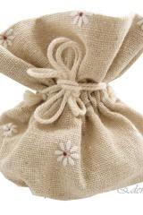 Sacchetto-bustina-portaconfetti-tessuto-grezzo-margherite-fiore-fiori-