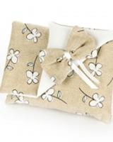 Sacchetto-portaconfetti-beige-pochette-matrimonio-comunione-cresima- Art.:0854