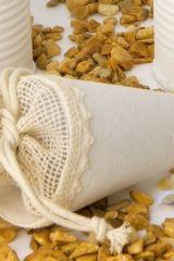 cono-rustico-cotone-avorio-con-tirante-portaconfetti-batteismo-comunione-cresima-laurea-matrimonio-Cod015