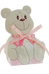 Scatolina-portaconfetti-orso-orsetta-rosa-Cod.-ED0232