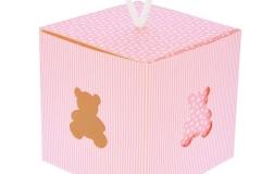 Scatola-scatolina-cubo-portaconfetti-orso-bimba-rosa-righe-8x8x8-ST18317459