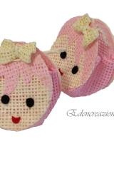 Scatola-scatolina-paglia-rosa-viso-bimba-portaconfetti-Art.ED0191