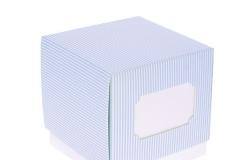 Scatola-scatolina-portaconfetti-righe-celeste-inserto-targhetta-F C-9x9x9-ST18317588