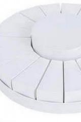 Torta da 18 fette + centrale bianca (COLORE IRIDESCENTE)  Codice- SC094-BCO