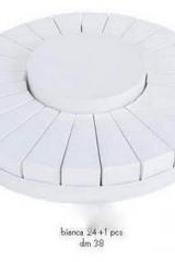 Torta da 24 fette + centrale bianco  Codice- SC096-BCO