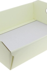 Vassoio-cesto-cartone-scatola-portaconfetti-sacchetti-bomboniera-cerimonie-comunione-cresima-matrimonio-battesimo- Misure: 400X300X120-art.: ST4313011