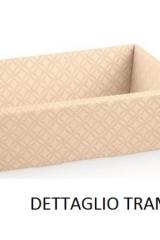 Vassoio cartoncino matalassè nudo. CM 29x21 H 9  Codice- S37581